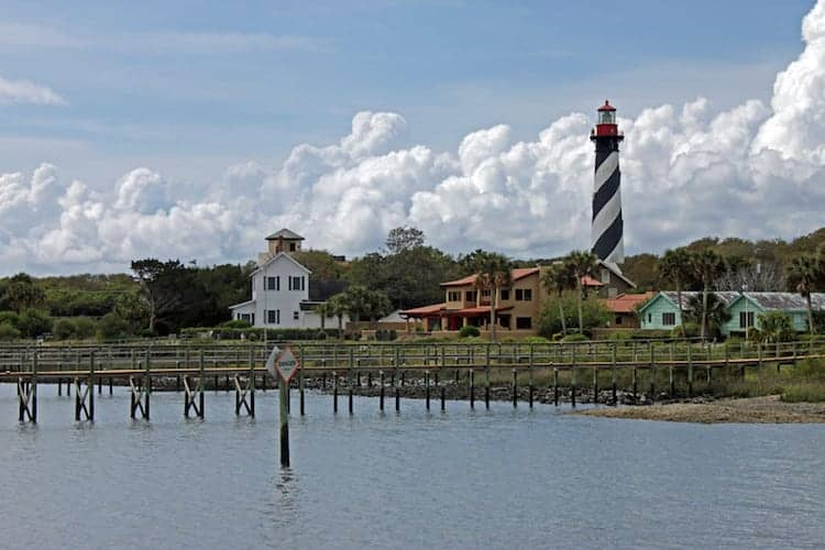 Climb the 249 steps to the top of the St. Augustine Lighthouse!