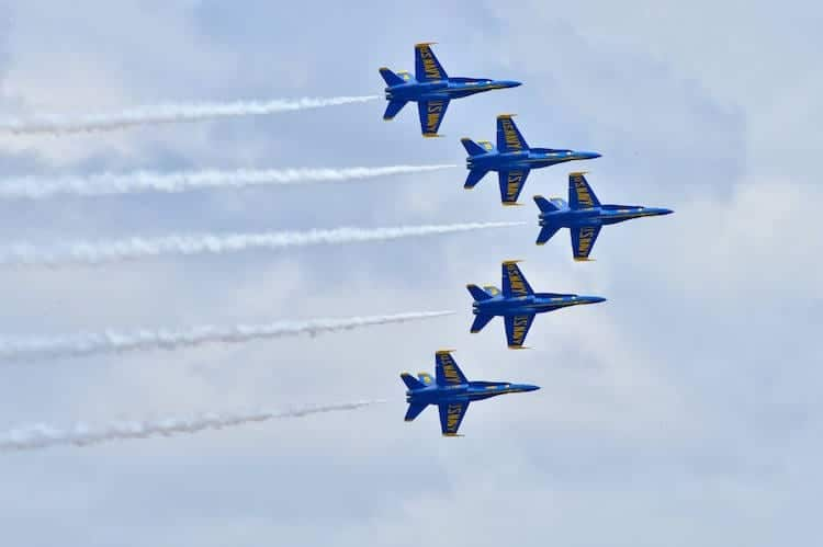 The Iconic U.S. Navy Blue Angels